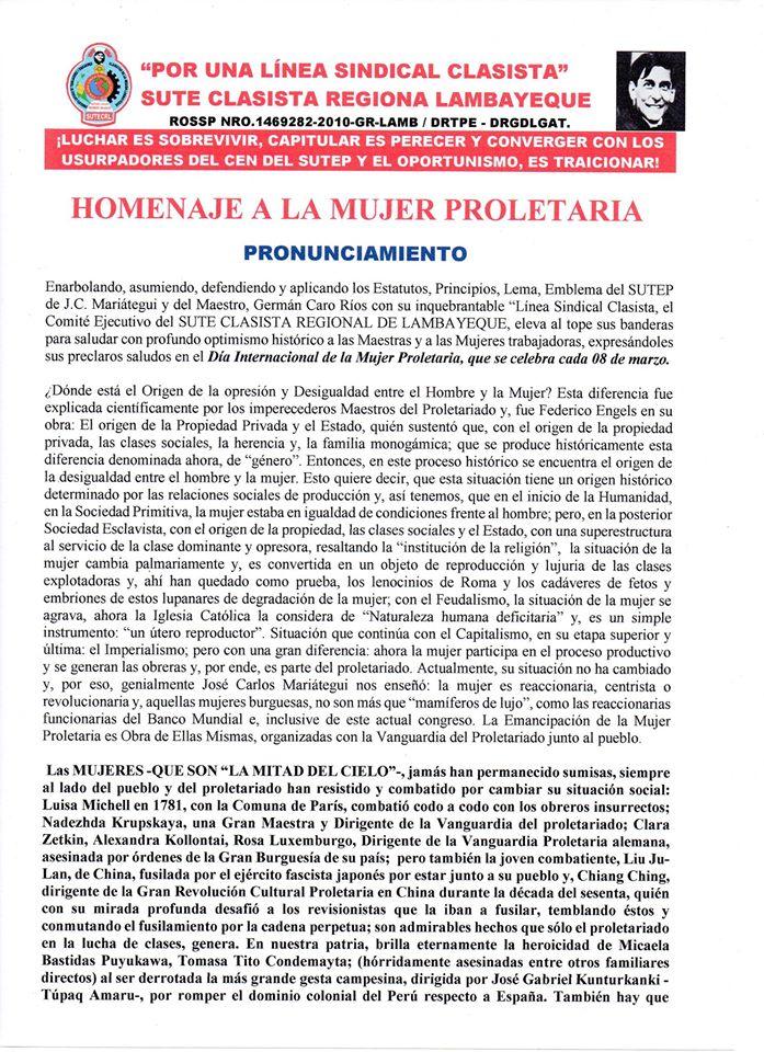 Peru 8 Maerz 2020 f1