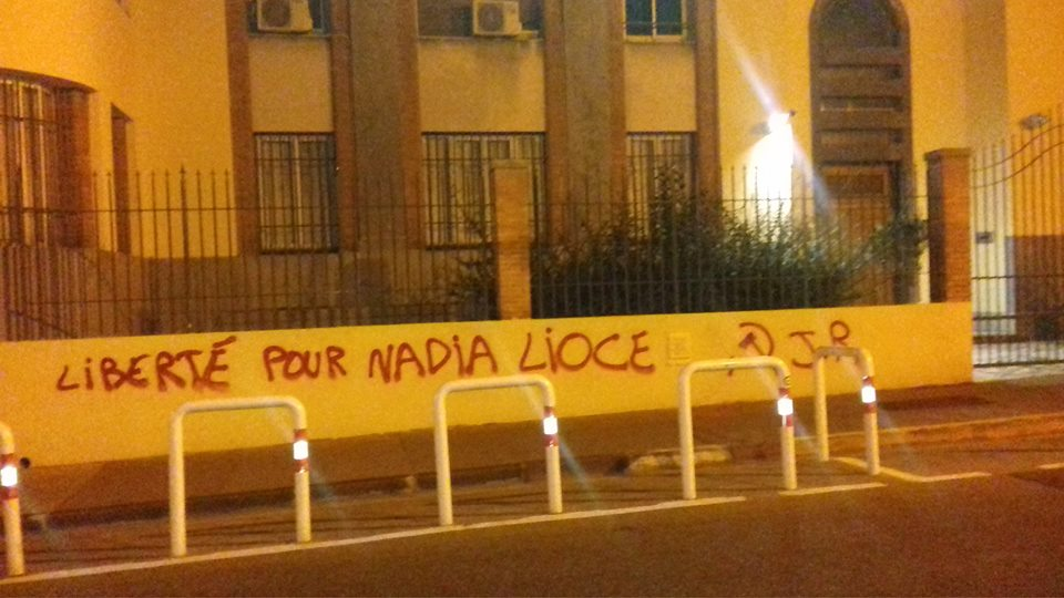 Attack on italien consulate in marseille