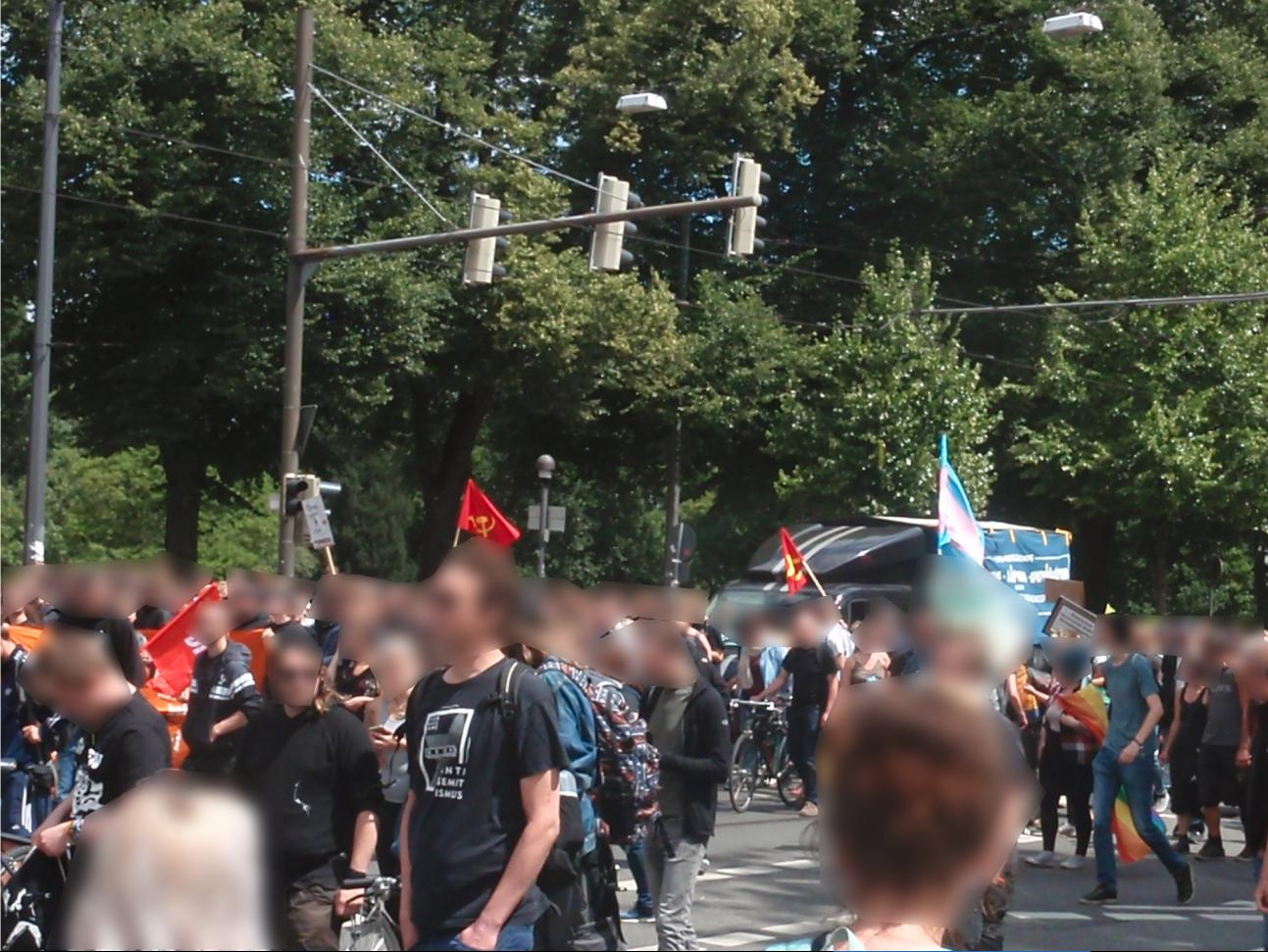 Antifaschistische Demonstration in Bremen 2