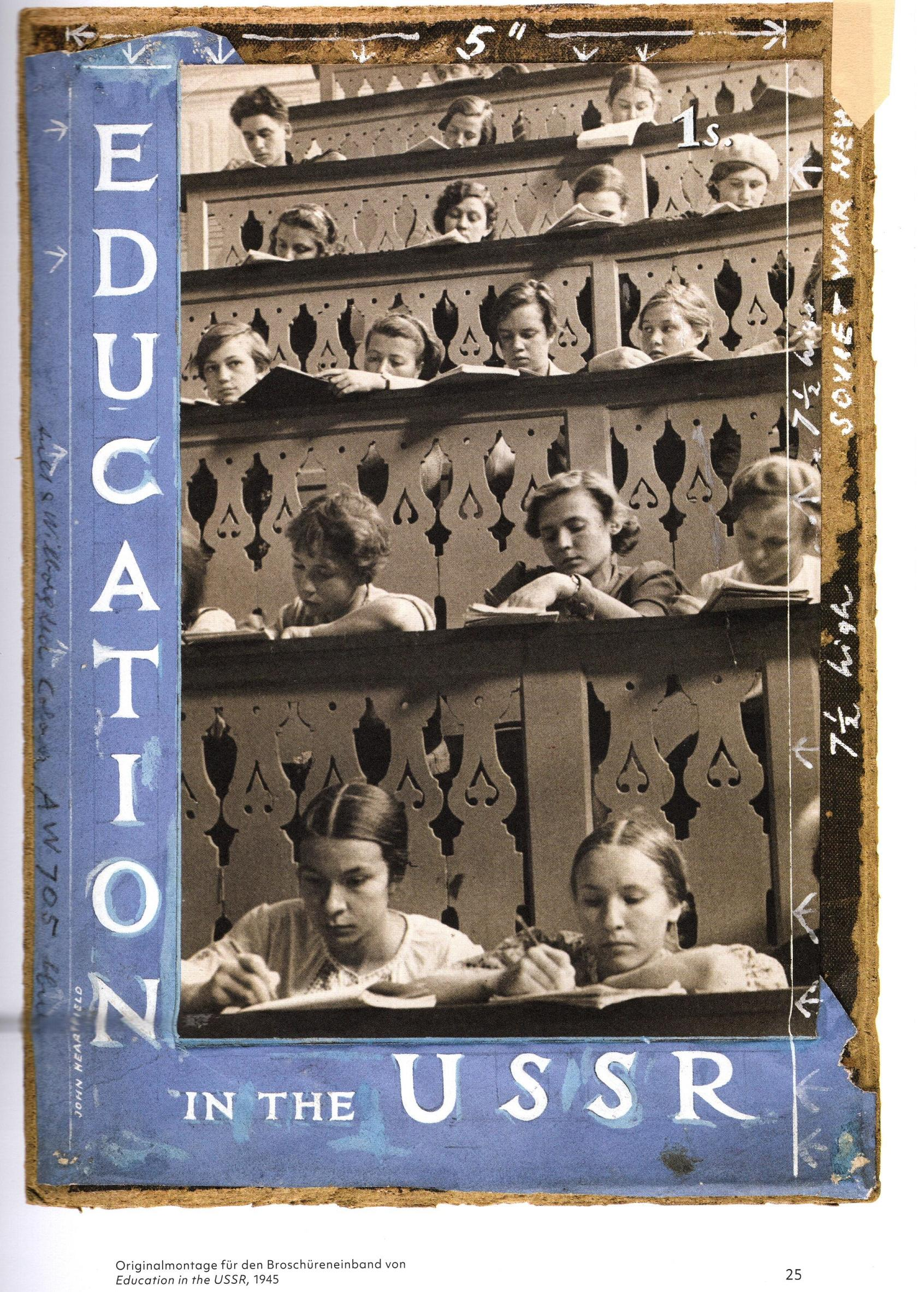 Education the USSR cover