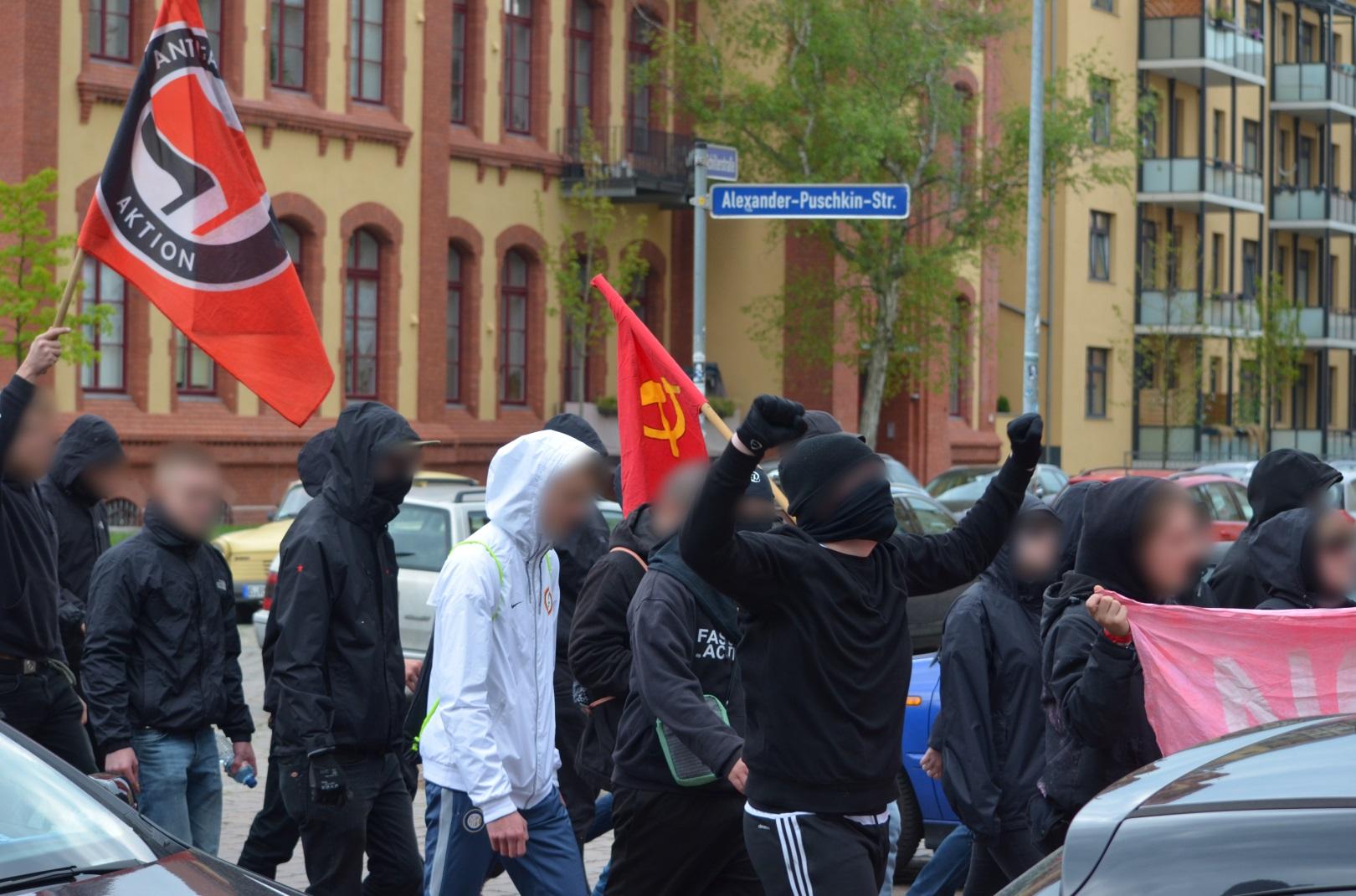 Magdeburg 1Mai2017 Demo