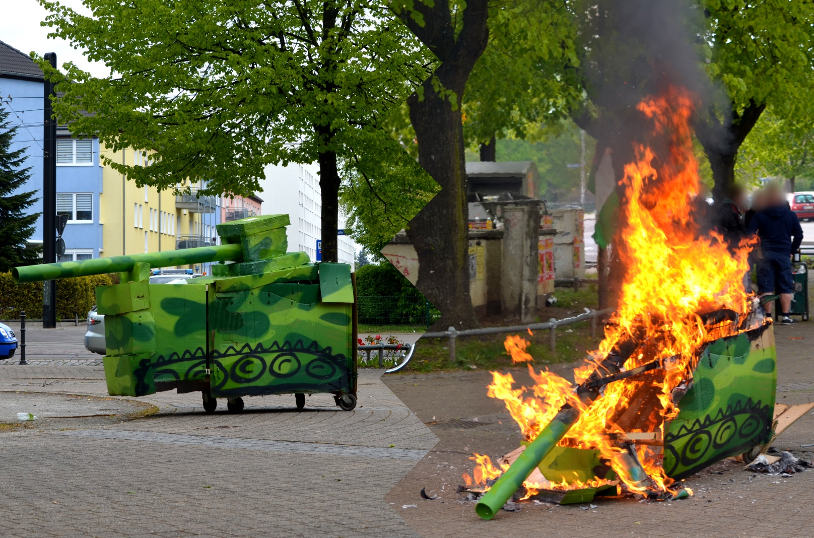 Magdeburg 1Mai2017 antimilitarismus