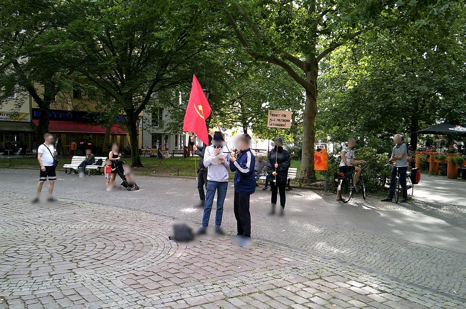 Kundgebung in Berlin gegen das Urteil im TKP ML Prozess 1