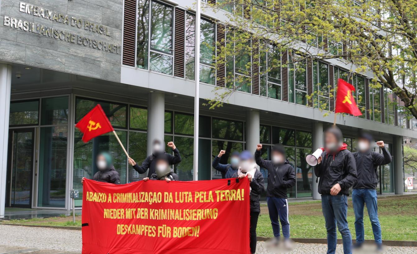 Solos rally movimiento campesino Rondonia Berlín Mayo 2021 I