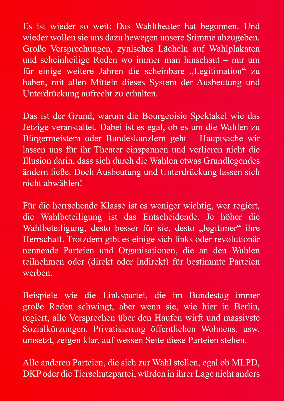 Flugblatt 1