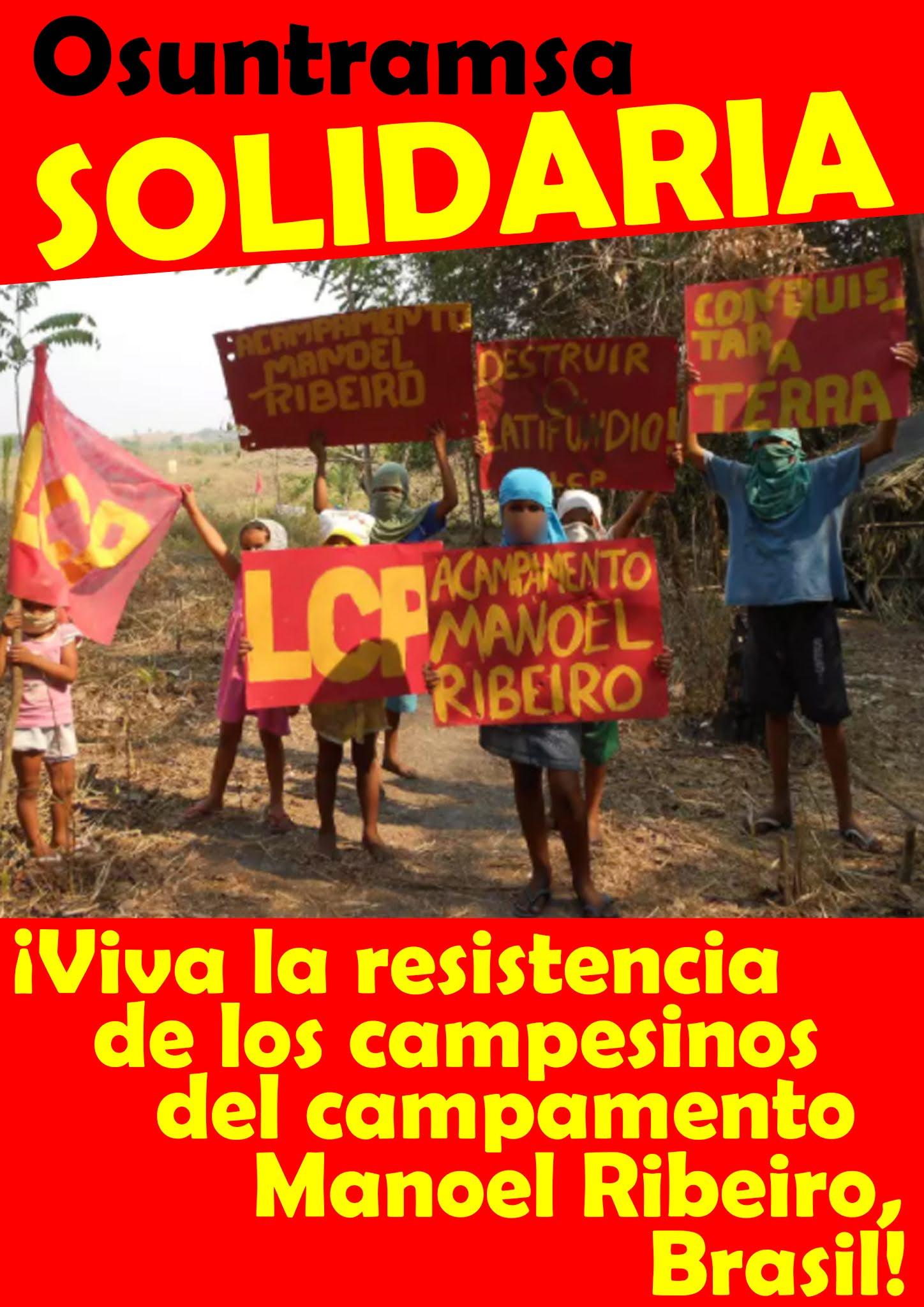 Rondonia Solidarität EC Erklärung