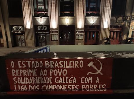 Rondonia Solidarität GZ Transparent