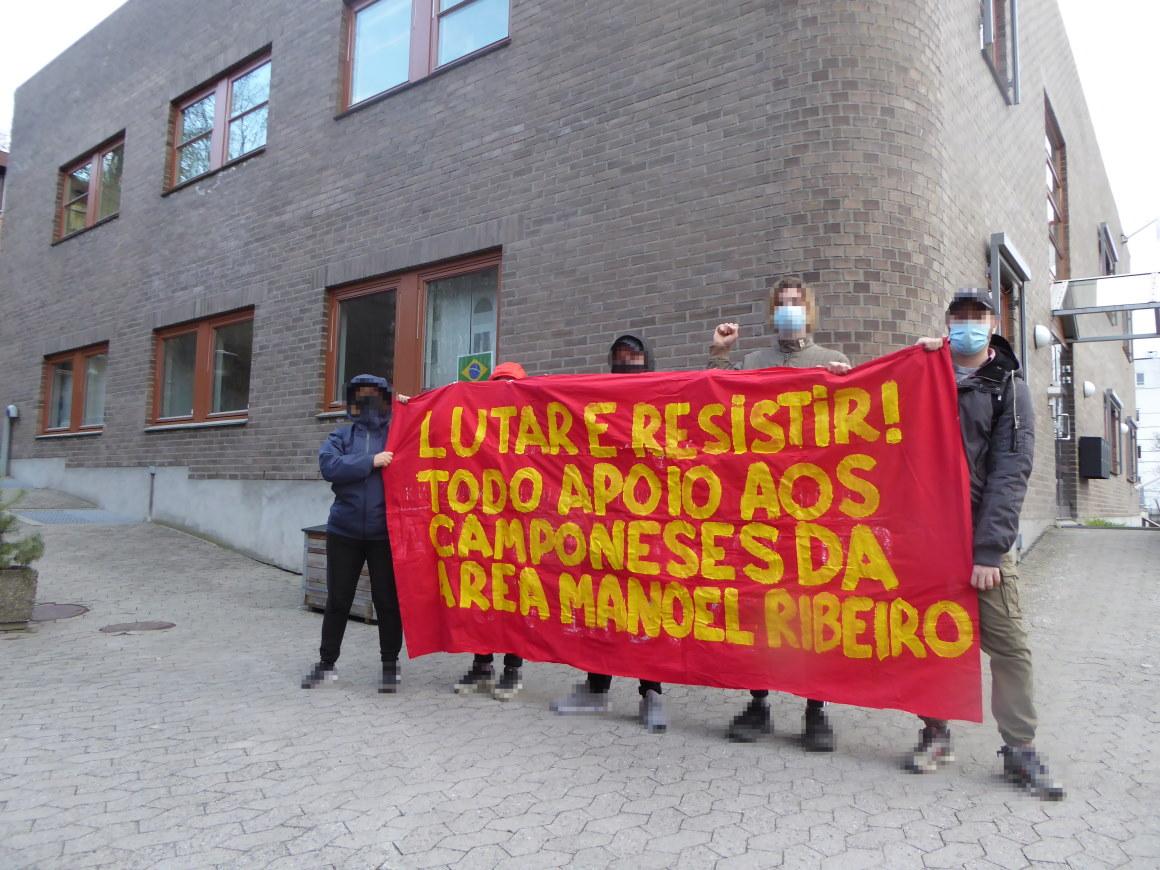 Rondonia Solidarität NR Kundgebung Oslo