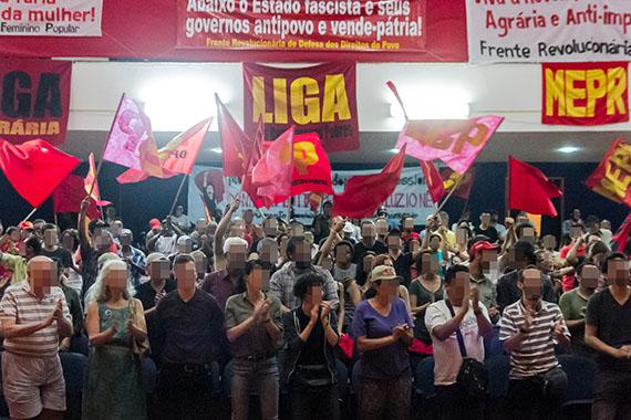 podium feier kulturrevolution