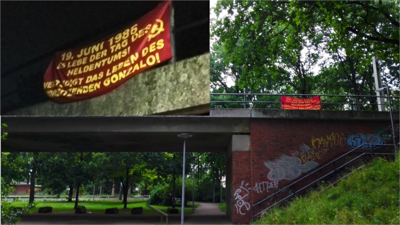 tag des heldentums 19. juni verteidigt das leben des vorsitzenden gonzalo