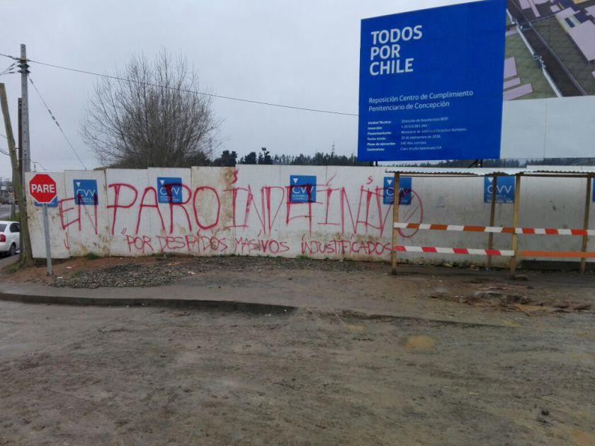 Streik El Manzano Parole