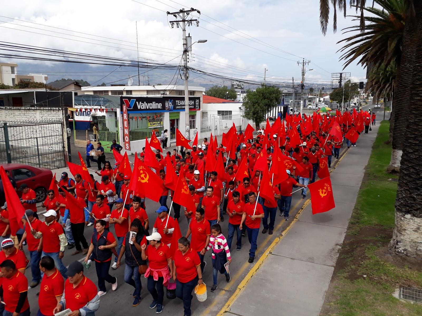 1 de mayo clasista antiimperialista y revolucionario fdlp ec 2018 N2