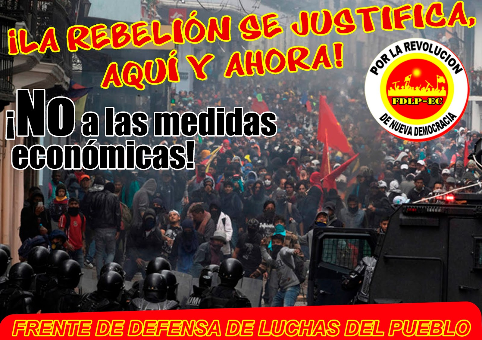 Ecuador it is right to rebell 2