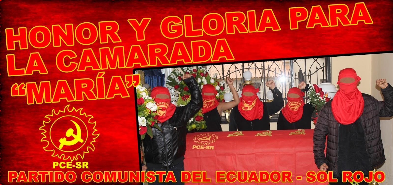 PCE Sol Rojo Maria