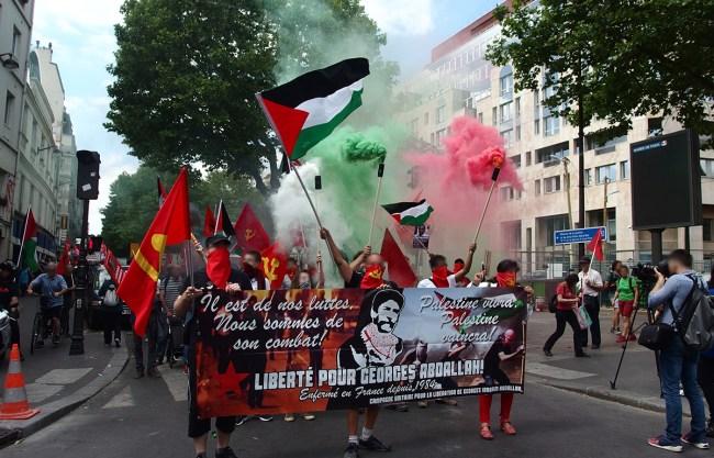 Frankreich Abdallah Front