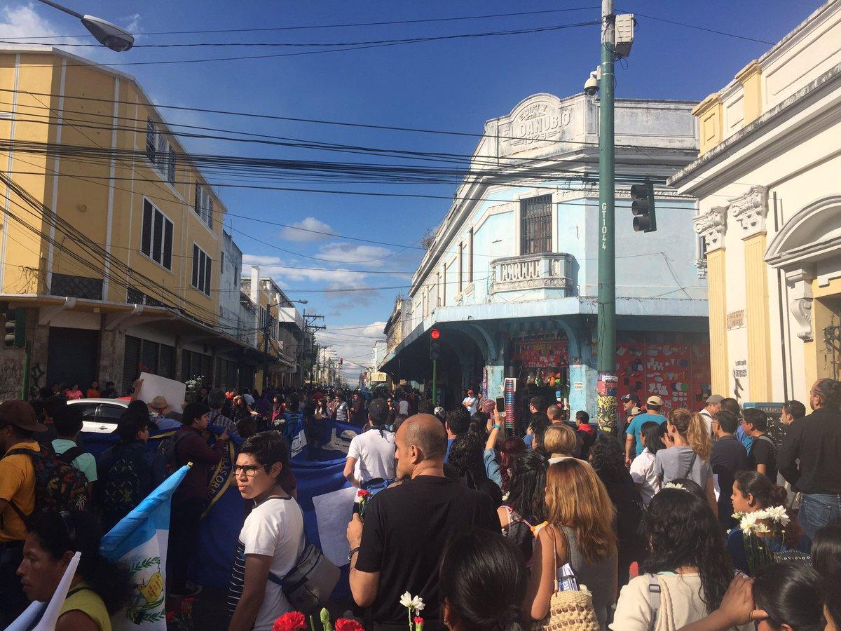 Guatemala Demo Heim
