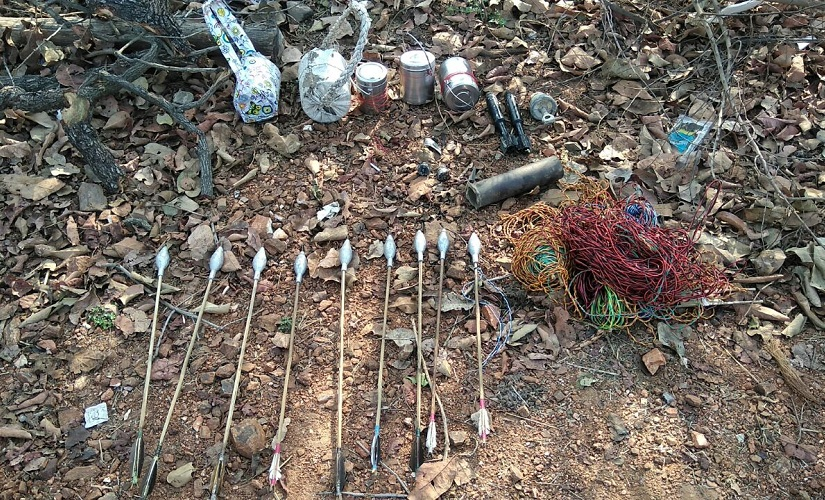 Indian Maoist improvised weapons