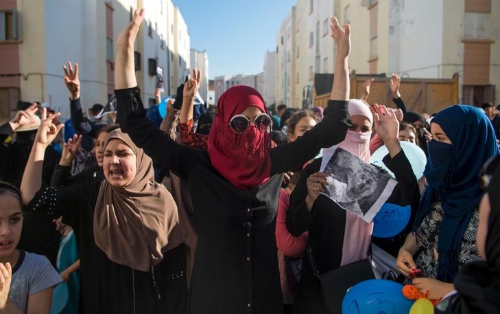 Manifestation Imzouren Rif marocain 11 2017 0 729 457