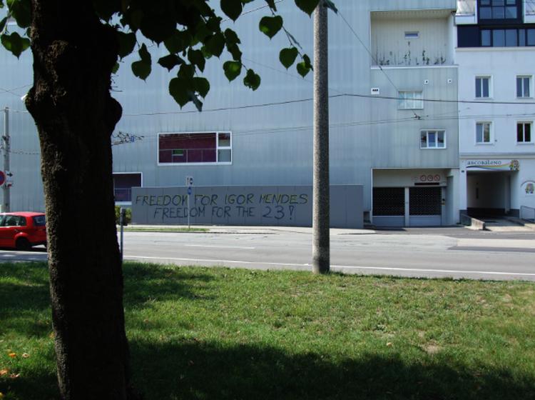 23 Verhaftete Linz 2