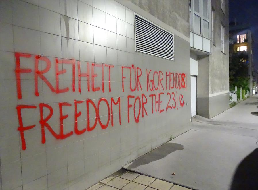 23 Verhaftete Wien 2
