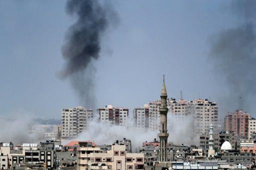 Luftangriffe auf den Gazastreifen1