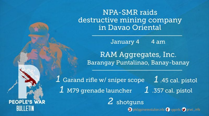 NPA Raid on Mine