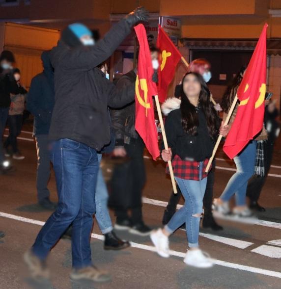 8 de marzo de rojo Comité de Mujeres Bremerhaven 3