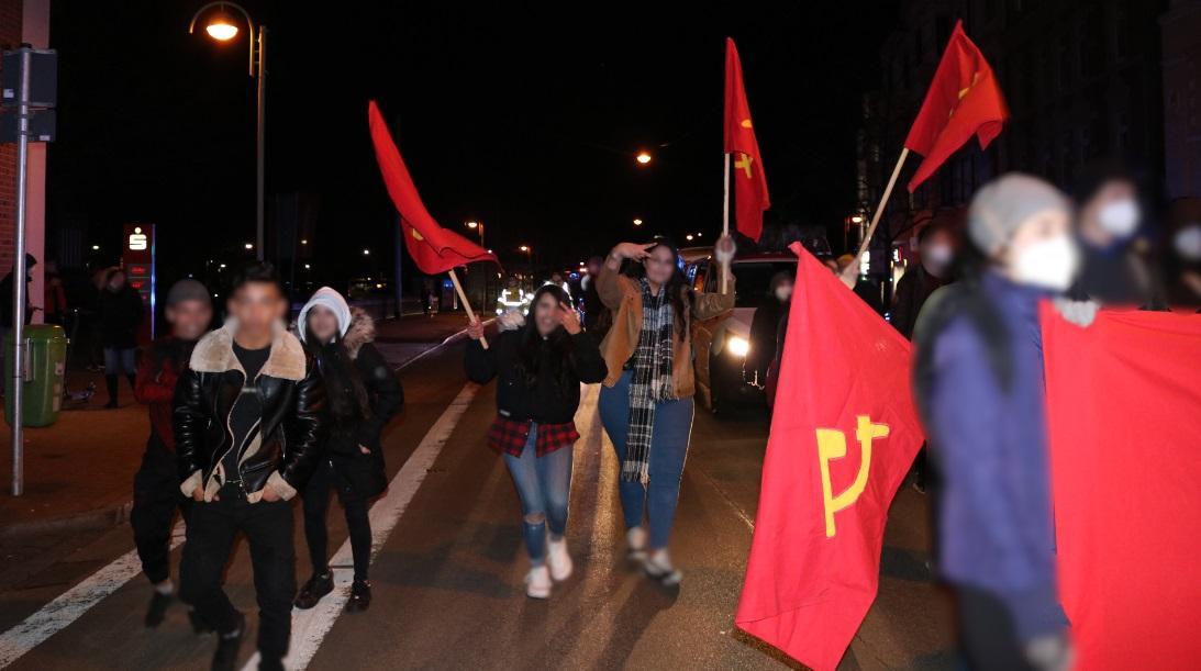 8 de marzo, Comité de Mujeres Rojas, Bremerhaven, Alemania 4
