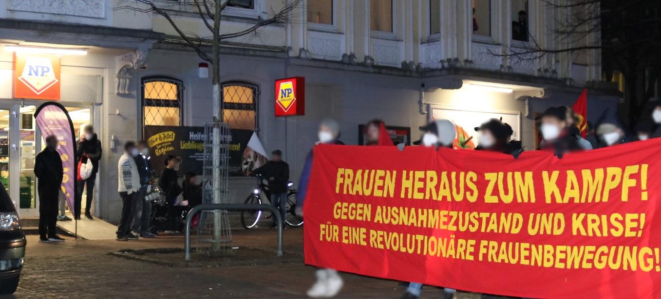 8 de marzo de rojo Comité de Mujeres Bremerhaven 5
