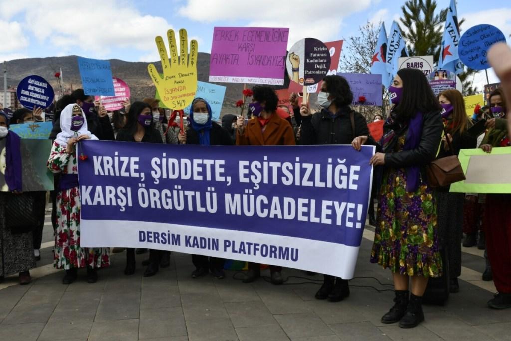 Frauenkampftag 2021 Dersim