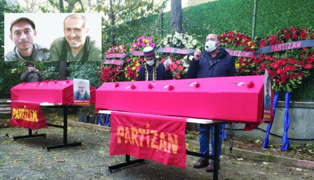 Funeral de Nubar Özgür Estambul