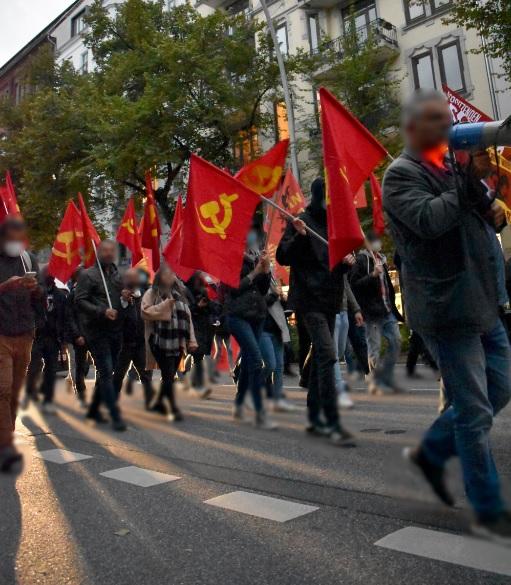 Demonstration zu Ehren Vorsitzender Gonzalo Hamburg4