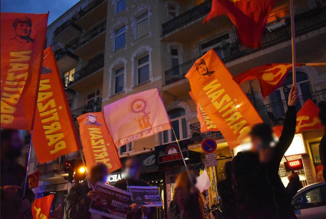 Demonstration zu Ehren Vorsitzender Gonzalo Hamburg7