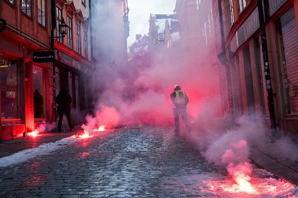 Stockholm Antifa Protest3