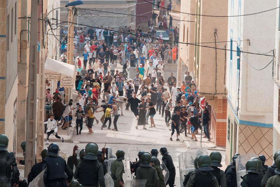 manifestation maroc 6